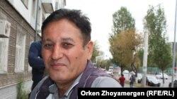Шамсидин Султанов, өзбекстандық еңбек мигранты. Астана, 20 қыркүйек 2016 жыл