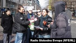 Петрит Сарачини, Движење против полициска бруталност.