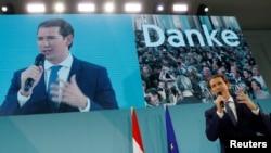 Sebastian Kurz, foatul și probabil viitorul cancelar al Austriei, Viena, 29 septembrie 2019