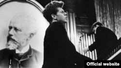 АҚШ пианисі, 1958 жылғы Бірінші халықаралық Чайковский концертінің жеңімпазы Ван Клиберн.