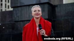 Марыя Калесьнікава, жнівень 2020-га
