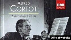 Coperta ediției aniversare Alfred Cortot