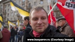 Left Front activist Aleksei Sakhnin fled Russia in 2013 and now lives in Sweden. (file photo)