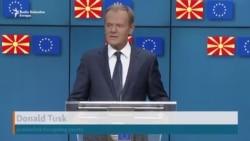 Zaev i Tusk uoči samita EU