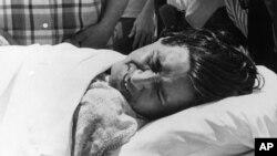 Сезар Чавес у свій 20 день голодування