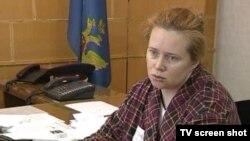 Осужденная Юлия Круглова (Стоп-кадр vesti.ru)
