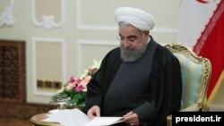 حسن روحانی، رئیس جمهورایران