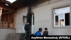 Дом Дусера Абдураимова в селе Бостандык.