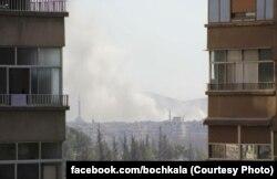 Бомбовий удар по передмістю Дамаска, Дарайї