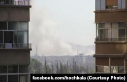 Бомбовый удар по пригороду Дамаска, Дарайе