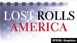 "Logo projekta ""Lost Rolls America"" (Izgubljeni filmovi Amerike)"