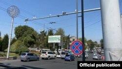 Камеры «Безопасного города» в Оше. 3 сентября 2021 года.