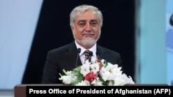 عبدالله عبدالله رئیس شورای عالی مصالحهملی افغانستان