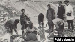 Добыча золота в Желтугинской республике