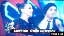 Ebru Gündeş və Elnur Hüseynov