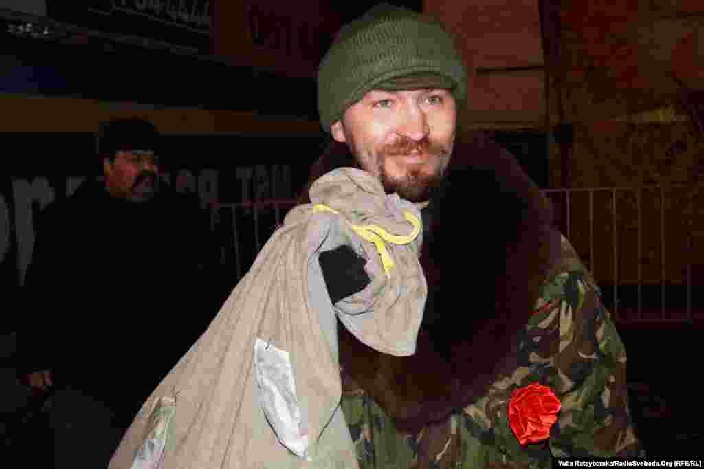 Боєць АТО – один із героїв новітнього різдвяного спектаклю