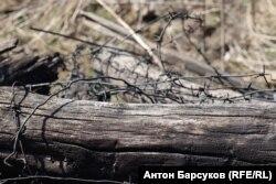 Карьер где работали заключенные Особого лагерного пункта № 4 Сиблага