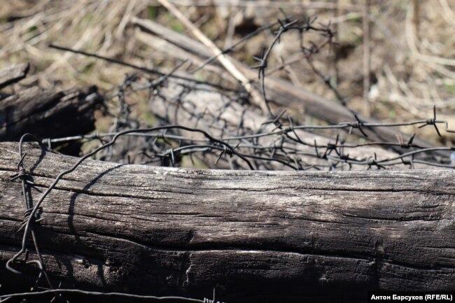 Карьер, где работали заключенные Особого лагерного пункта №4 Сиблага
