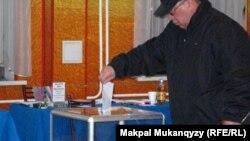 Казахстанский избиратель. Иллюстративное фото.