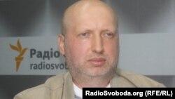 Народний депутат Олександр Турчинов (фракція «Батьківщина»)