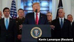 Президент США напередодні говорив про посилення санкцій проти Ірану