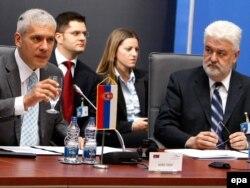 Boris Tadić i Mirko Cvetković