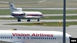 Американский самолет с российскими шпионами приземлился в Вене