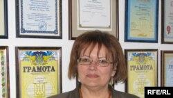 Директор единственной в Симферополе украиноязычной гимназии Наталья Руденко
