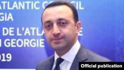 თავდაცვის მინისტრი ირაკლი ღარიბაშვილი