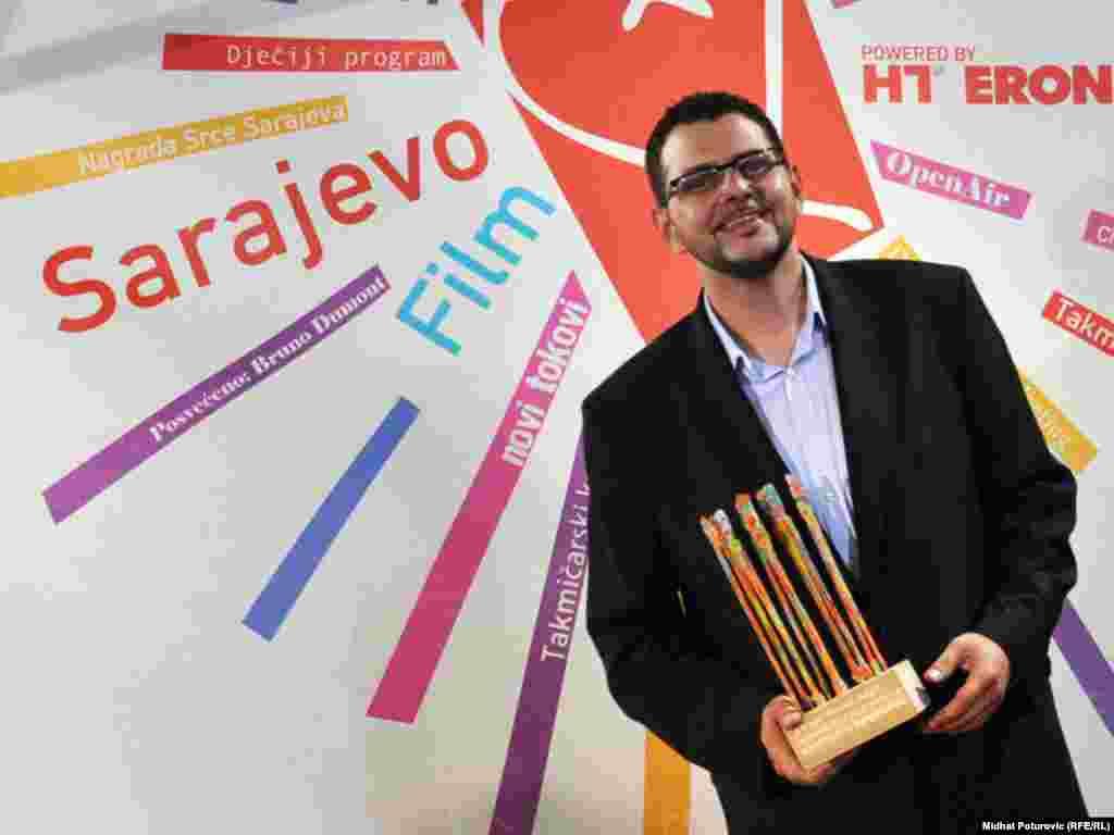 Robert Tomić Zuber, nagrada za ljudska prava
