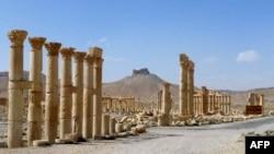 Пальмира. 27 марта 2016 года.
