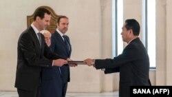 بشار اسد چهارشنبه گذشته استوارنامه سفیر جدید کره شمالی را پذیرفت و گزارش شده در این دیدار از قصد سفر به پیونگیانگ خبر داده است.