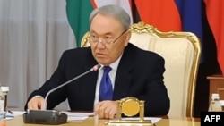 Қазақстан президенті Нұрсұлтан Назарбаев. Астана, 15 желтоқсан 2014 жыл.