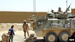 نیروهای ایساف و افغانستان دوشنبه گذشته نیز در عملیات دیگری 55 تن از طالبان را کشته بودند.(عکس:epa)