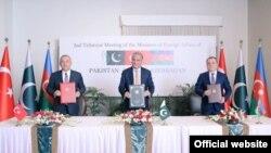 Yanvarın 13 -də İslamabadda Pakistan,Türkiyə və Azərbaycan xarici işlər nazirlərinin üçtərəfli dialoqunun ikinci görüşü keçirilib