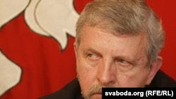 Belarusian opposition leader Alyaksandr Milinkevich