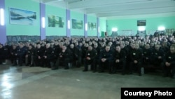 Нявольнікі беларускай калёніі (фота Рух «Маці-328»)