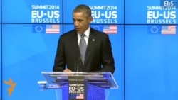 Obama Says 'Russia Stands Alone'