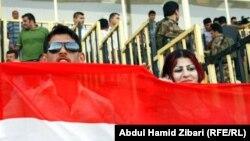 مشجعون لمباريات المنتخب العراقي والاردني 2 ايلول 2011