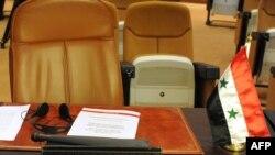 مقعد شاغر لسوريا في إجتماع لدول الجامعة العربية وتركيا في الرباط - المغرب