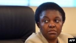 Itali - Ministrja për Integrime në qeverinë italiane, Cecile Kyenge (Ilustrim)