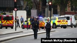 Поліція на місці інциденту