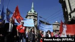 Protesti u Srbiji, 25. mart 2011.