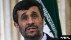 محمود احمدینژاد، رئیس جمهور ایران.