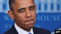 АҚШ президенті Барак Обама. Вашингтон, 14 қараша 2013 жыл.