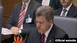 Presidenti i Maqedonisë Gjorgje Ivanov
