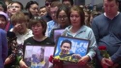 Qazaxıstanda öldürülən 25 yaşlı olimpiya çempionu ilə vidalaşma