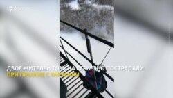 Экстремалы в Томске получили травмы после прыжка на веревке с моста