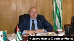 Глава администрации Галского района Абхазии Темур Надарая