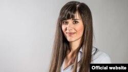 Ёлін Ван Камп, кіраўніца бэльгійскай дэлегацыі, якая ўзначальвае сэкцыю сувязяў зьБеларусьсю